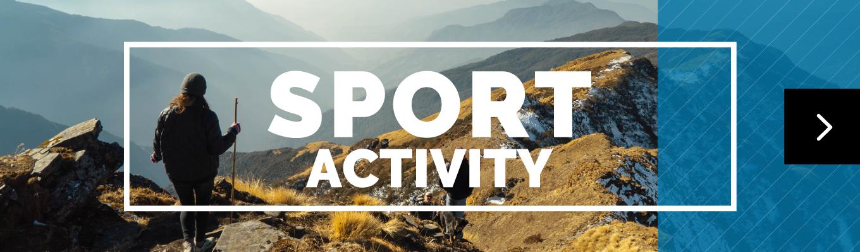アウトドアスポーツ・アクティビティをサポート